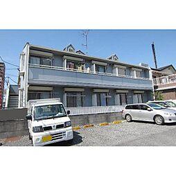 埼玉県川越市通町の賃貸アパートの外観