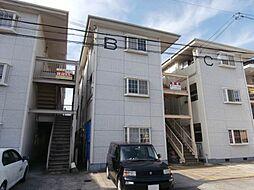 コーポホワイト南出島B棟[2階]の外観