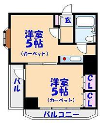 ライオンズマンション船橋第7[701号室]の間取り