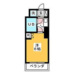 ホーユウコンフォルト多賀城[2階]の間取り