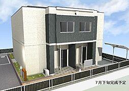 愛知県一宮市貴船2丁目の賃貸アパートの外観