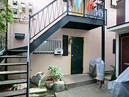 東京都大田区池上6丁目の賃貸アパートの外観