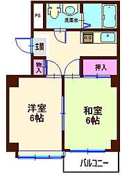 DIVINE片倉町[1階]の間取り