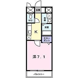アーバン御陵[2階]の間取り