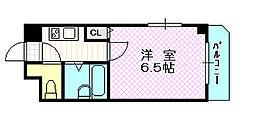 エスポアール京橋2番館[6階]の間取り
