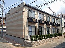 千葉県千葉市稲毛区小中台町の賃貸アパートの外観