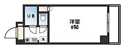 神奈川県海老名市国分北2丁目の賃貸マンションの間取り