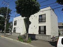 北海道札幌市東区北二十条東6丁目の賃貸アパートの外観