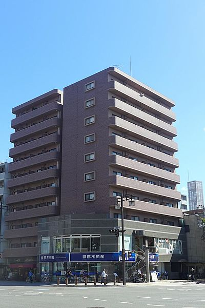 ハートD 8階の賃貸【広島県 / 広島市南区】