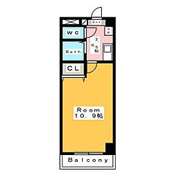 A・City相生[3階]の間取り