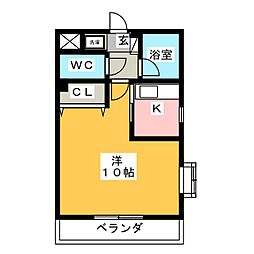 AKII[2階]の間取り