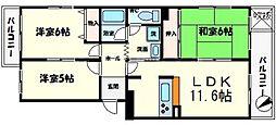アルタカーサ A棟[4階]の間取り
