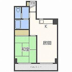 メゾン東和[7階]の間取り
