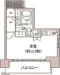 東京都中央区銀座4丁目の賃貸マンションの間取り