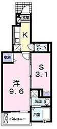 コモドカーサ レモン館[1階]の間取り