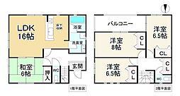 平群駅 2,580万円