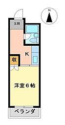 アーバンM[4階]の間取り
