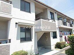 岡山県岡山市北区花尻ききょう町の賃貸マンションの外観
