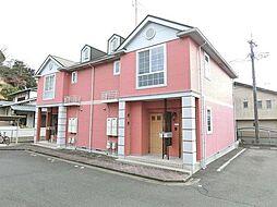 岐阜県岐阜市長良の賃貸アパートの外観