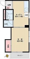 メゾン平井[3階]の間取り
