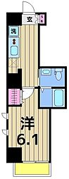 朱雀楼 東京[5階]の間取り