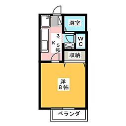 サンライフM[2階]の間取り