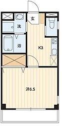 プラスパーA[4階]の間取り
