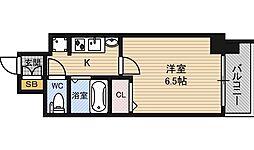 エステムコート新大阪7ステーションプレミアム[9階]の間取り