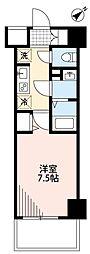 N-stage西所沢 3階1Kの間取り