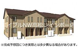 高松琴平電気鉄道長尾線 元山駅 徒歩24分