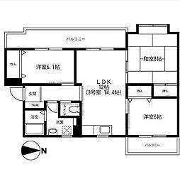 アネックス湘南[1階]の間取り