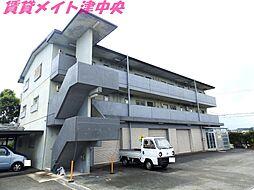 三重県津市一志町高野の賃貸マンションの外観