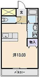 リジエール21[306号室]の間取り