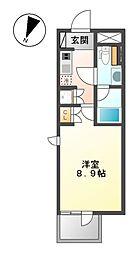 COZY大曽根[1階]の間取り