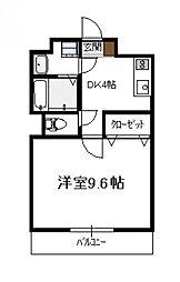 第4松田ビル[202号号室]の間取り