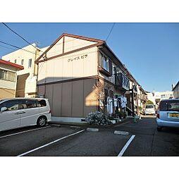 静岡県沼津市上香貫の賃貸アパートの外観