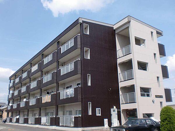 京都府京都市伏見区横大路六反畑の賃貸マンションの外観