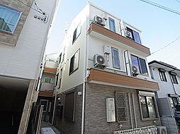 東京都葛飾区亀有2の賃貸アパートの外観