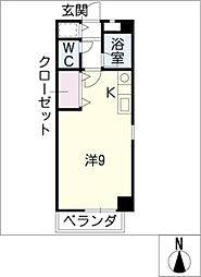西丸ノ内トレゾア[3階]の間取り