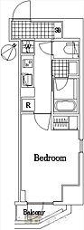 ザ・レジデンス・オブ・トーキョーC18[3階]の間取り