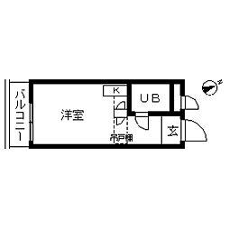 TOP・学芸大学第4[0308号室]の間取り