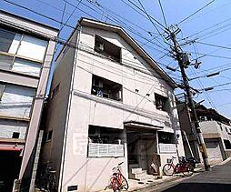 京都府京都市北区出雲路立テ本町の賃貸アパートの外観