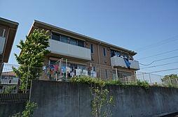 ソレイユA[1階]の外観