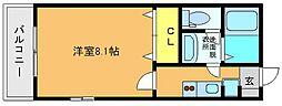 スクレーパー東[4階]の間取り