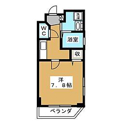 ベラジオ京都鞍馬口[2階]の間取り