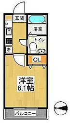 BELLAVISTA戸塚(ベラヴィスタ)[1階]の間取り