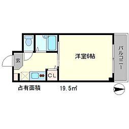 メゾンノーブル[4階]の間取り