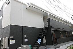 大阪府豊中市蛍池北町1丁目の賃貸アパートの外観