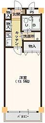 リゾティ英賀保[2階]の間取り