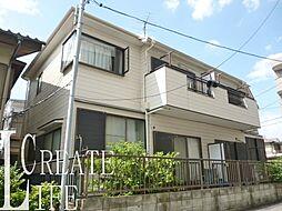 埼玉県さいたま市南区白幡1丁目の賃貸アパートの外観